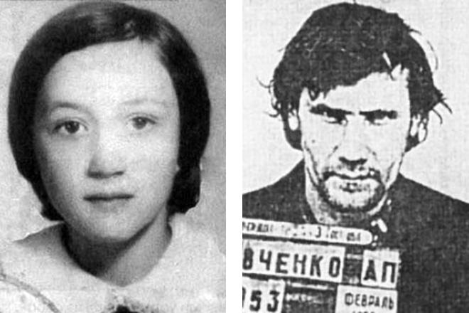 Первая жертва Елена Закотнова и Александр Кравченко