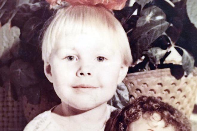 Наталья Бочкарева в детстве