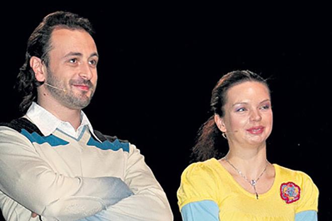 Алиса Гребенщикова и Илья Авербух