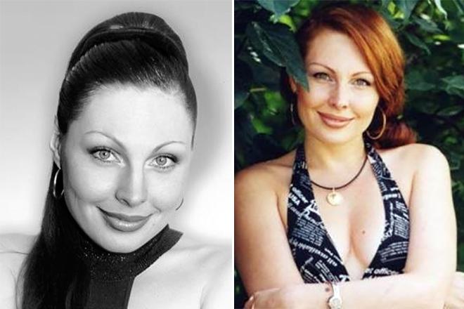 Наталья Бочкарева в юности