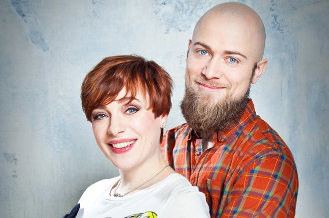 Тутта Ларсен с мужем Валерием Колосковым