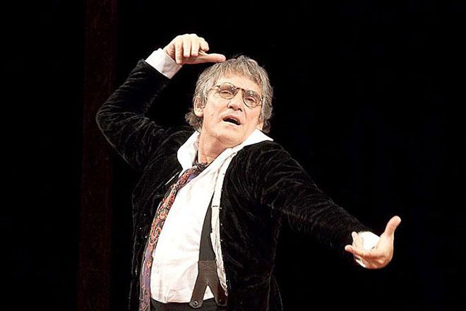 Валерий Гаркалин в театре