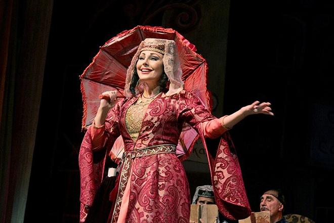 Наталья Бочкарева в театре