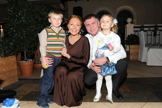 Наталья Бочкарева с бывшим мужем