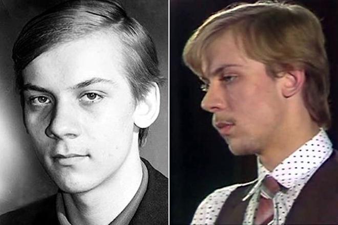 Виктор Раков в молодости