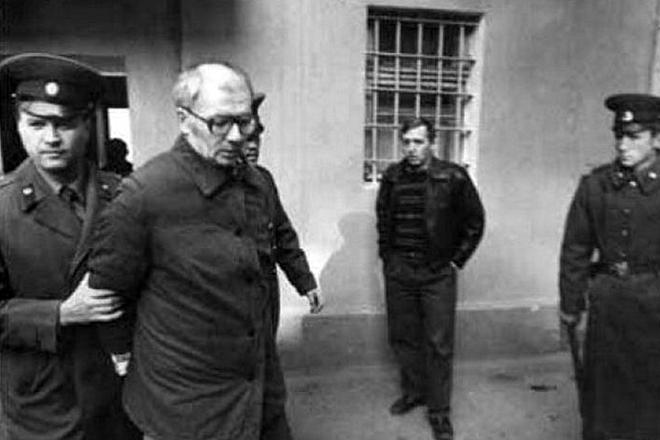 Арест Андрея Чикатило