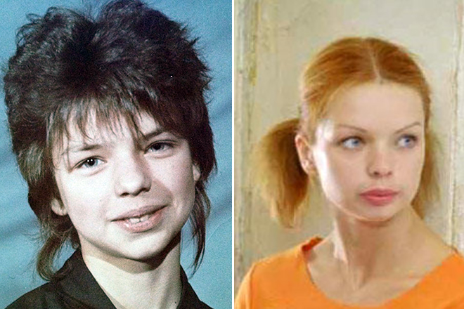 Алиса Гребенщикова в юности