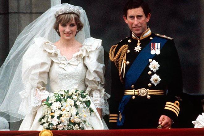 Свадьба Дианы и Чарльза