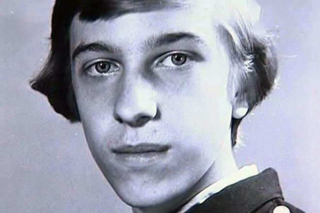 Сергей Соседов в молодости