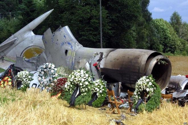 Авиакатастрофа над Боденским озером