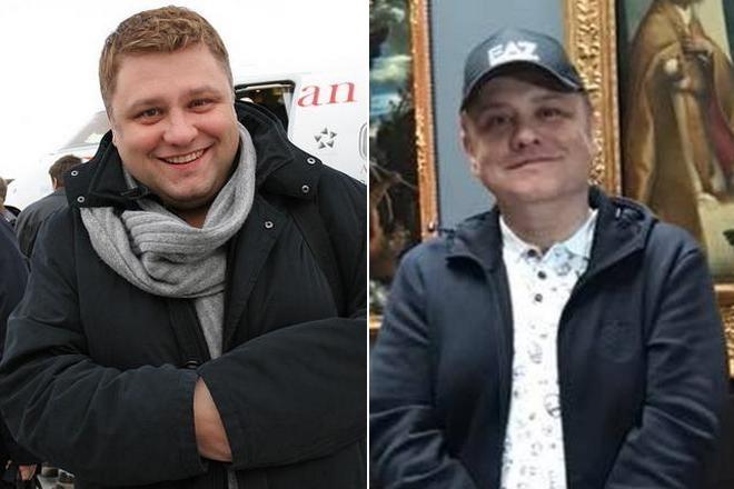 Сергей Майоров до и после похудения в 2018 году