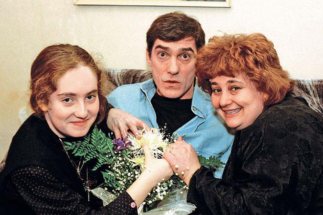 Валерий Гаркалин с семьей