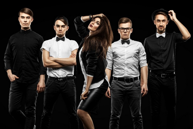 MARUV и группа «The Pringlez»