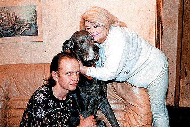 Наталья Кустинская и ее сын Дмитрий
