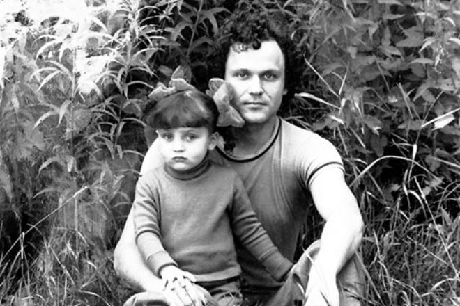 Николай Еременко-младший с дочерью Ольгой