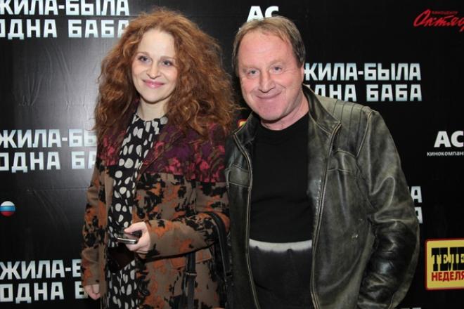 Владимир Стеклов с дочерью