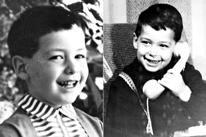 Дмитрий Гордон в детстве