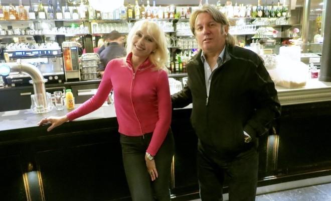 Юрий Лоза с женой