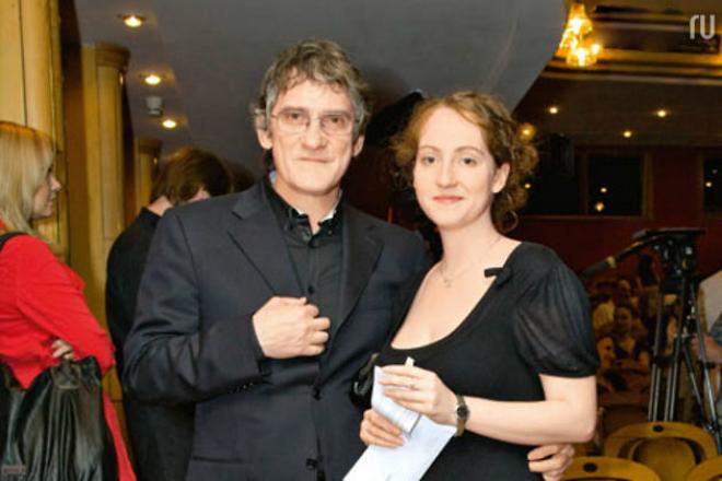 Валерий Гаркалин с дочерью