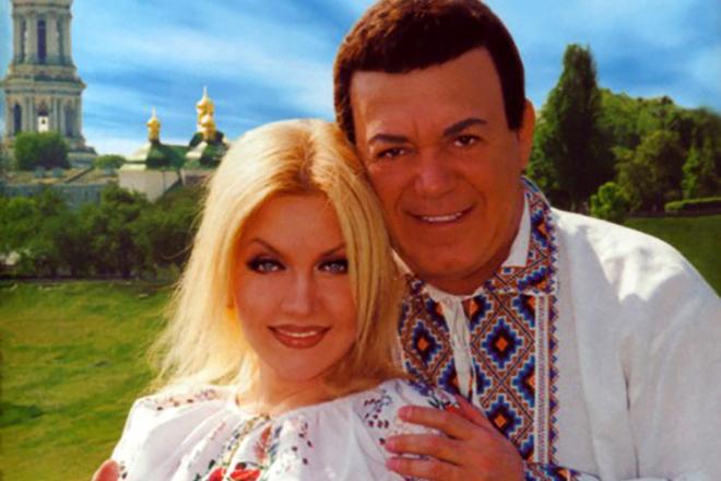 Таисия Повалий и Иосиф Кобзон
