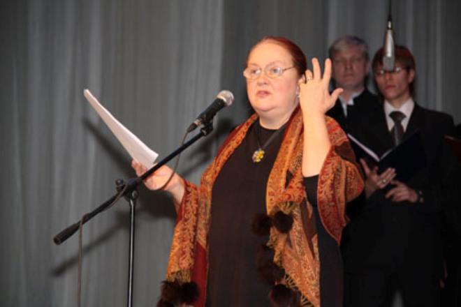 Актриса Екатерина Градова