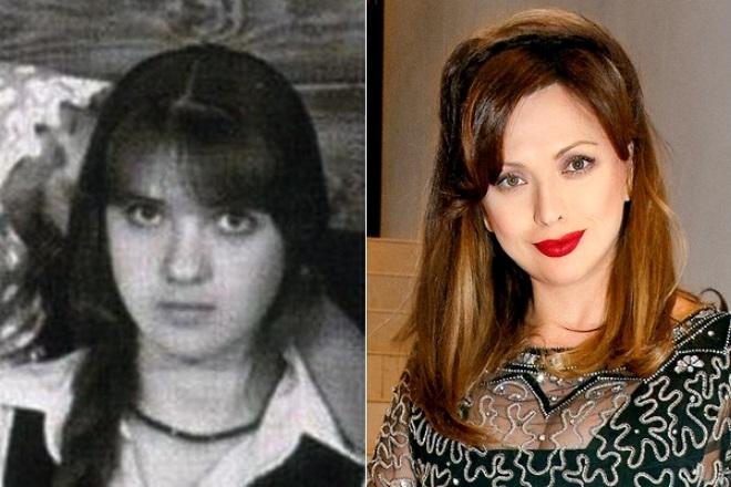 Ольга Дроздова в юности и сейчас