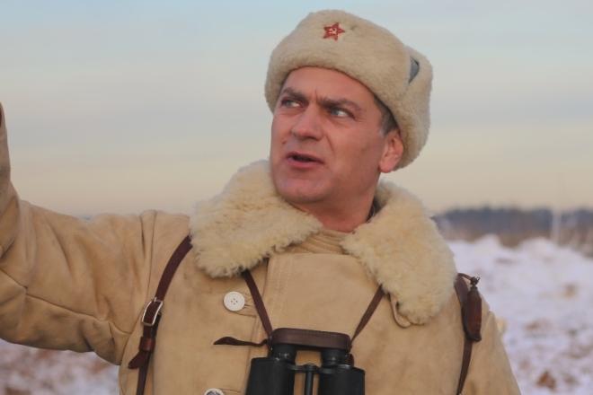 Алексей Зубков в фильме «Последний Рубеж»