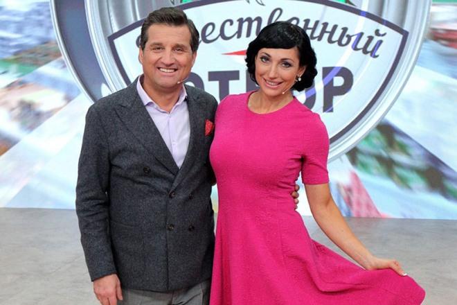 Отар Кушанашвили и Зинаида Руденко в ток-шоу «Естественный отбор»