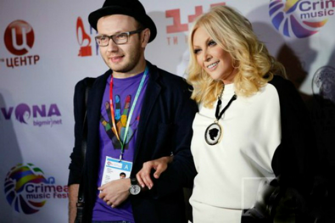 Таисия Повалий с сыном