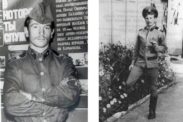 Игорь Тальков в армии