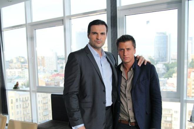 Александр Дьяченко и Павел Прилучный