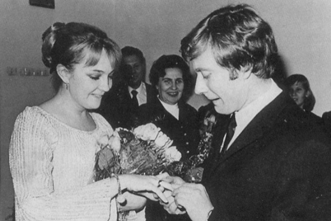 Екатерина Градова и Андрей Миронов