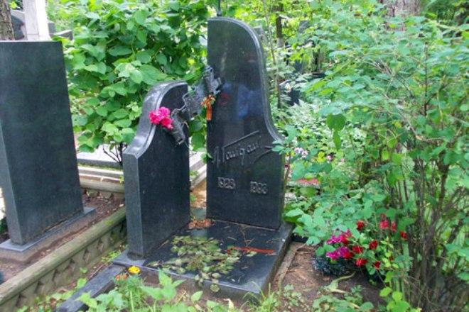 Могила Леонида Гайдая