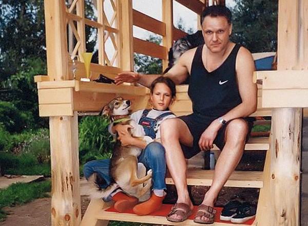 Николай Еременко-младший с дочерью Татьяной