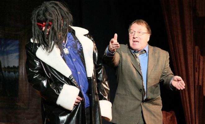Владимир Стеклов в театре