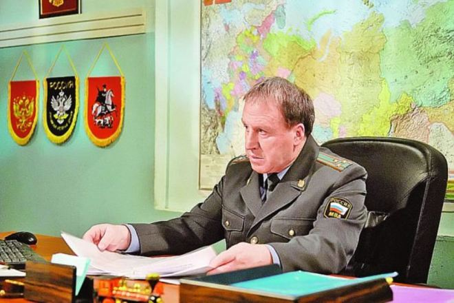 Владимир Стеклов в сериале «Москва. Три вокзала»