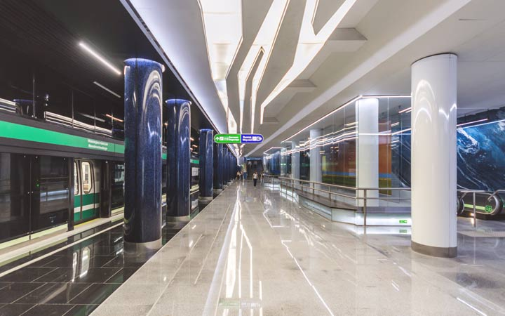 Метро Санкт-Петербурга станция Новокрестовская
