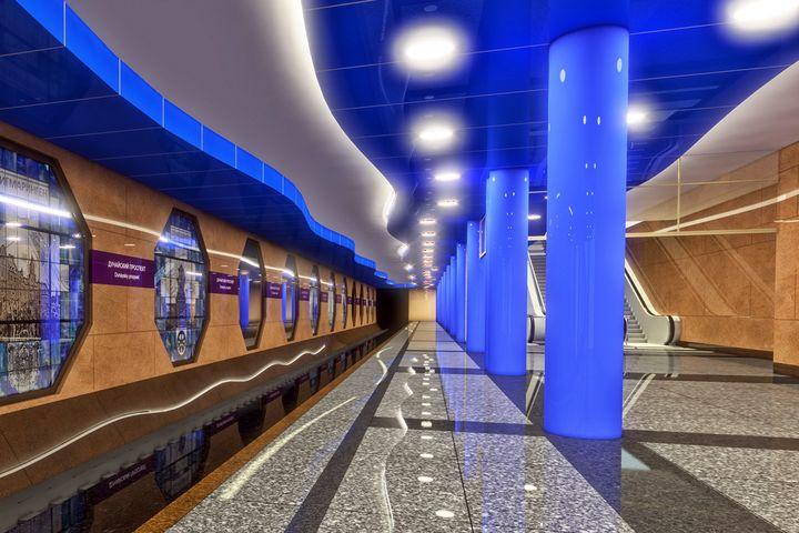 Станция метро в Питере