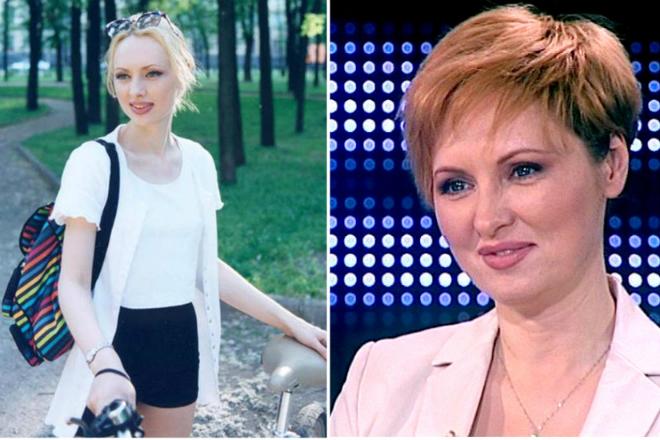 Елена Ксенофонтова в молодости и сейчас