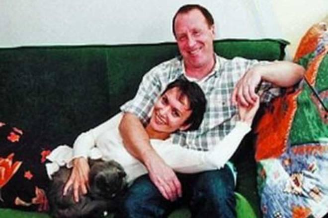 Владимир Стеклов с женой Ольгой