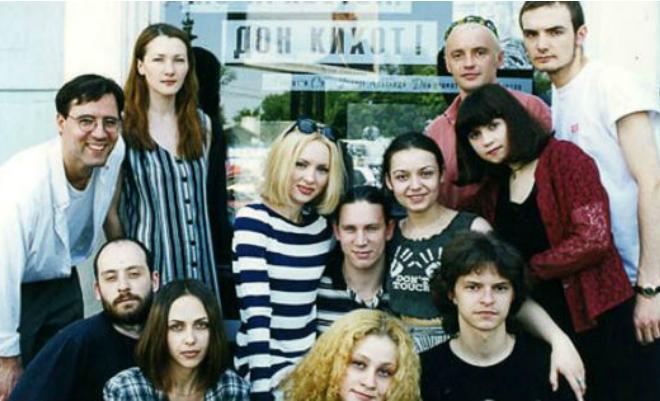 Елена Ксенофонтова с одногруппниками