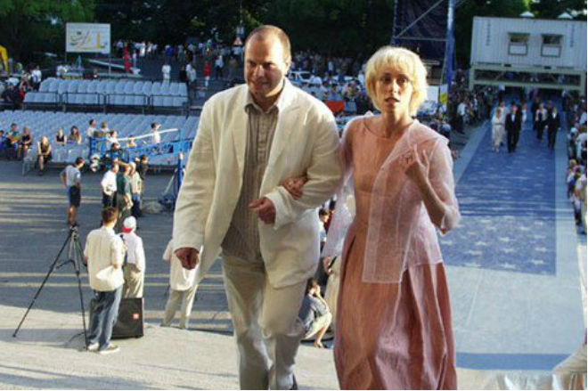 Юлия Рутберг и Алексей Кортнев