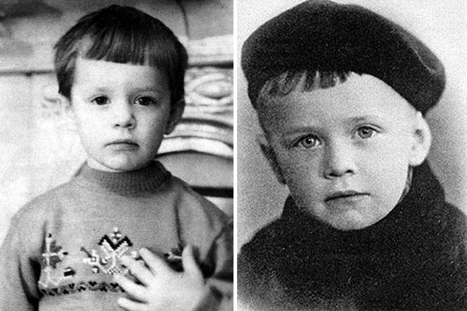Борис Гребенщиков в детстве