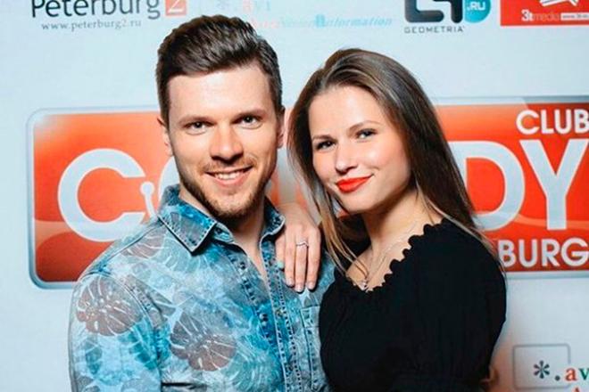 Юлия Топольницкая и Игорь Чехов