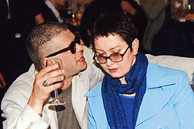Борис Гребенщиков с женой Ириной