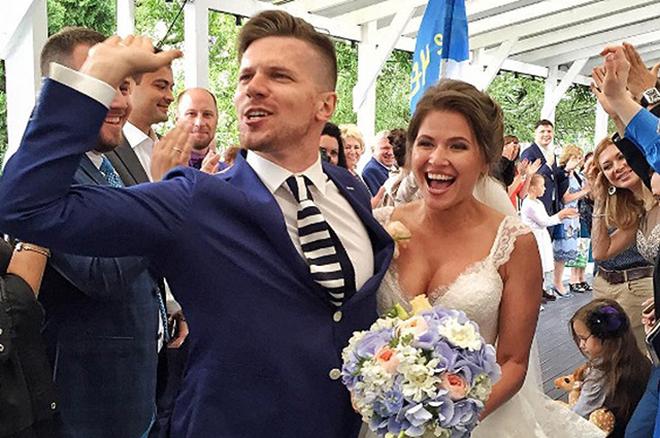 Свадьба Юлии Топольницкой и Игоря Чехова