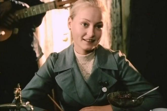 Ольга Шукшина в молодости