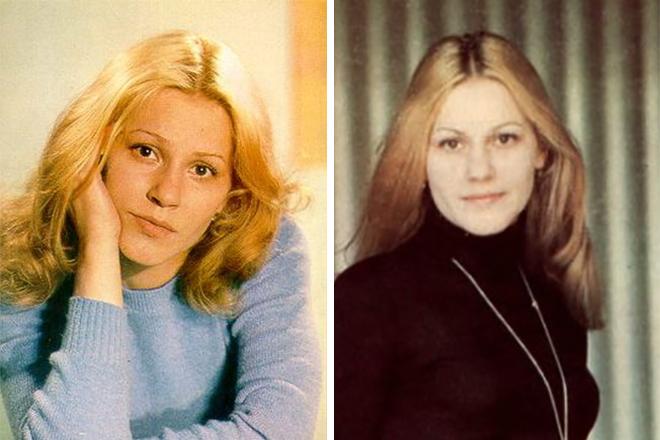 Анна Каменкова в молодости