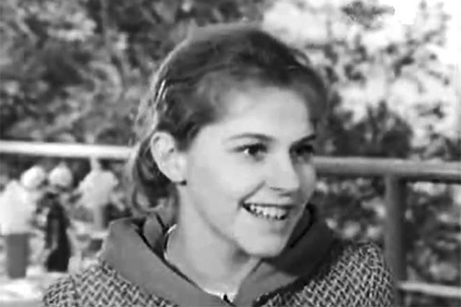 Анна Каменкова в юности