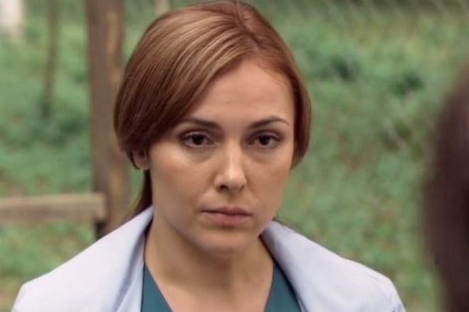 Елена Панова (Кадр из сериала «Доктор Тырса»)
